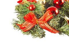 Green christmas wreath Royalty Free Stock Photos