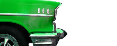 Green and chrome Royalty Free Stock Photos