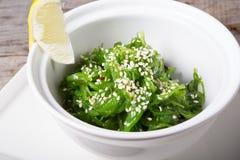 Green chuka salad Royalty Free Stock Images