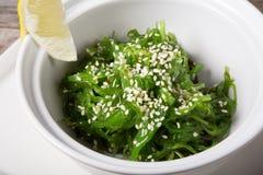 Green chuka salad Royalty Free Stock Image