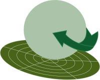 Green circle Royalty Free Stock Images