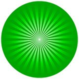 Green circle Royalty Free Stock Photography