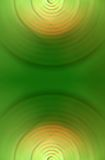 Green circle abstraction Royalty Free Stock Photo