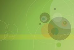 GREEN CIRCLE BACKGROUND Royalty Free Stock Photos