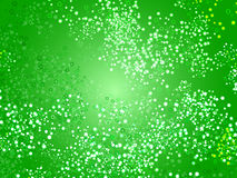 Green circle background Stock Photography