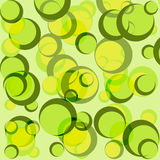 Green circle background Stock Photos