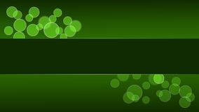 Green Circle Desktop Stock Photography