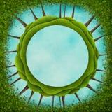 Green circle Royalty Free Stock Image