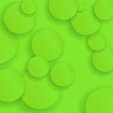 Green Circle Paper Background Stock Photos