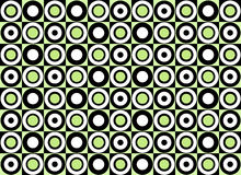 Green circle pattern. Vector. Art Royalty Free Illustration