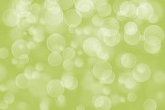 Green circle shape boke background Royalty Free Stock Photography