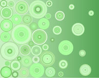 Green circles Stock Photo