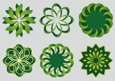 Green circles Royalty Free Stock Photos