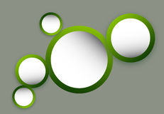Green circles Royalty Free Stock Photo