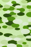 Green circles fabric texture Stock Photo