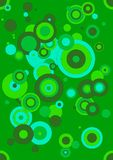 Green circles Royalty Free Stock Photos