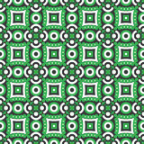Green circles pattern, vector background. Royalty Free Stock Photography