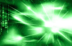 Green Circuit Background Royalty Free Stock Images