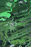 Green Circuit Board Royalty Free Stock Images