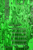 Green circuit board Royalty Free Stock Photography
