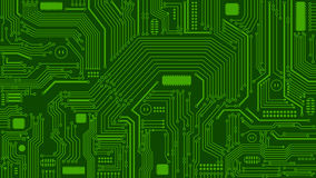 Green Circuit Board Background, Computers, Technology Royalty Free Stock Photo