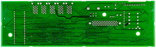 Green circuit board of computer Royalty Free Stock Photos