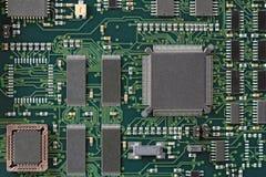 Green Circuit board Stock Photos