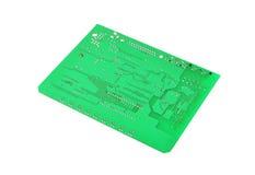Green circuit board Stock Image