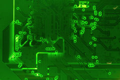 Green Circuit Mother board texture background Royalty Free Stock Image