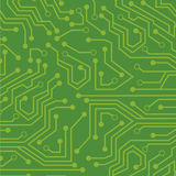 Green circuit Royalty Free Stock Photo