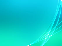 Green Circular Background. Green pastel gradient background with gradient curves Stock Image