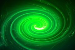 Green circular glow wave. lighting effect abstract background. Royalty Free Stock Image
