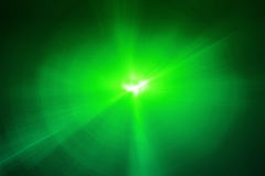 Green circular glow wave. lighting effect abstract background. Stock Image