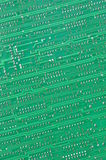 Green ciruit board Royalty Free Stock Image