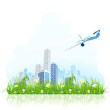 Green city Stock Images