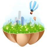 Green city Royalty Free Stock Image