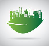 Green city Royalty Free Stock Image