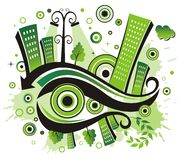 Green city. Stock Photo