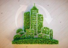 Green city concept Royalty Free Stock Photos