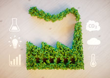 Green city concept Royalty Free Stock Photography