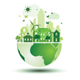 Green city Royalty Free Stock Photo