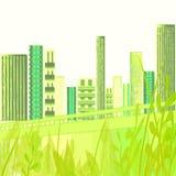 Green City Garden stock photo