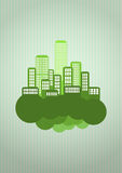 Green city Royalty Free Stock Photos