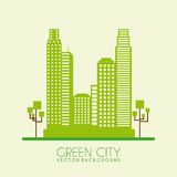 Green city Stock Photo