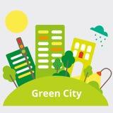 Green City Stock Image