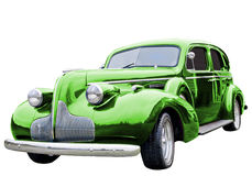 Green Classic Car Royalty Free Stock Image