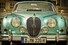 Green Classic Car Stock Photos