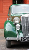 Green classic car Stock Images
