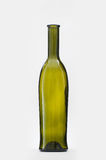 Green classic wine bottle Royalty Free Stock Image