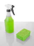 Green cleaning Royalty Free Stock Image